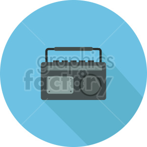 radio vector icon graphic clipart 1 clipart. Royalty-free image # 413583