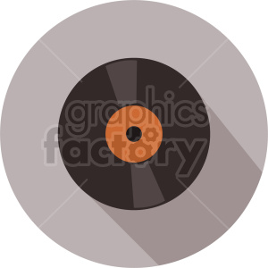 vinyl record vector icon graphic clipart 1 clipart. Commercial use image # 413692