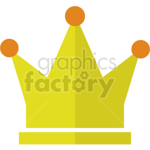 crown vector graphic clipart no background