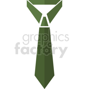 green tie vector graphic clipart clipart. Commercial use image # 413757