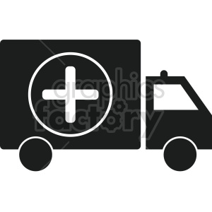 ambulance vector icon graphic clipart 5