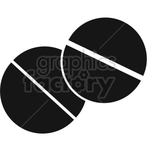 pills vector icon graphic clipart 15