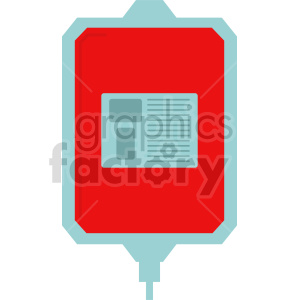 blood iv bag vector icon graphic clipart 2 clipart. Commercial use image # 413798