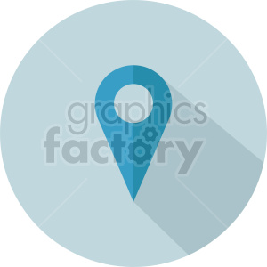 map marker vector icon graphic clipart 1
