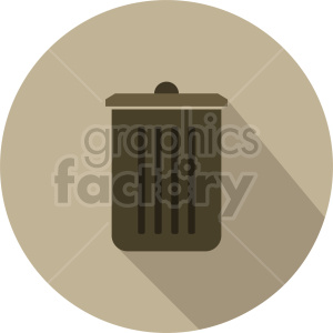 garbage can vector icon graphic clipart 2 clipart. Commercial use image # 413833