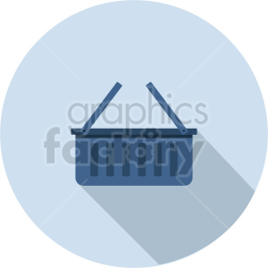 basket vector icon graphic clipart 3