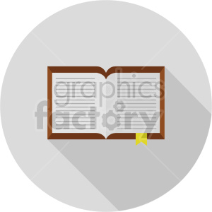 isometric journal vector icon clipart 8