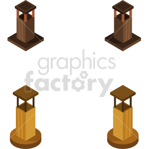 isometric brick chimney vector icon clipart bundle clipart. Commercial use image # 414000