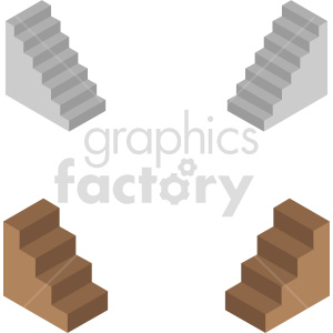 isometric ladder vector icon clipart 3 clipart. Commercial use image # 414016
