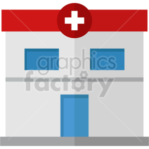 isometric hospital vector icon clipart 6 clipart. Commercial use image # 414034