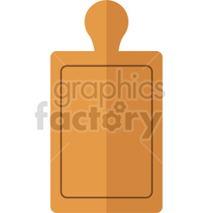 cutting board vector icon clipart 3 clipart. Commercial use image # 414088