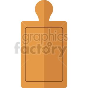 cutting board vector icon clipart 3