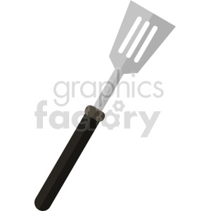 isometric spatula vector icon clipart 2 clipart. Commercial use image # 414248
