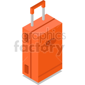 isometric travel bag vector icon clipart 9 clipart. Commercial use image # 414264