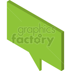 isometric chat boxes vector icon clipart 4 clipart. Commercial use image # 414319