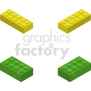 isometric building blocks vector icon clipart 2 clipart. Commercial use image # 414422