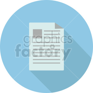 isometric document vector icon clipart 3 clipart. Commercial use image # 414591