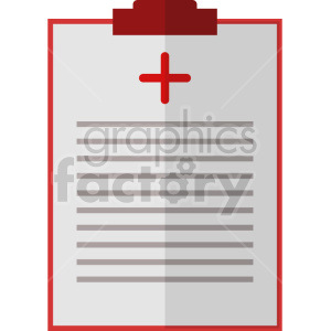 isometric medical report vector icon clipart 1 clipart. Commercial use image # 414617