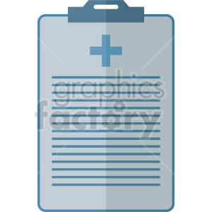 isometric medical report vector icon clipart 2 clipart. Commercial use image # 414620