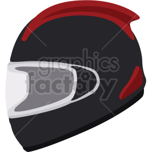 black motorcycle helmet vector clipart clipart. Commercial use image # 414891