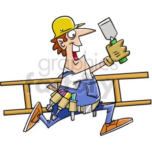 cartoon handyman clipart clipart. Commercial use image # 415029