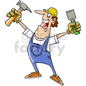 clipart - handyman clipart.