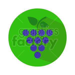 grape vector icons 2 clipart. Commercial use image # 415176