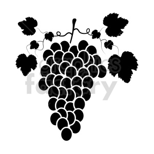grapes vector graphic 06 clipart. Commercial use image # 415210