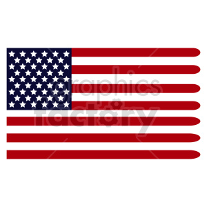 Flag of North America vector clipart 04 clipart. Commercial use image # 415301