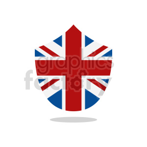 flag of the United Kingdom vector clipart 01 clipart. Commercial use image # 415303