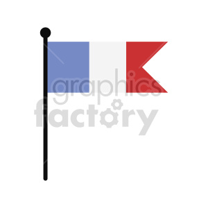 france flag vector icon clipart. Commercial use image # 415305