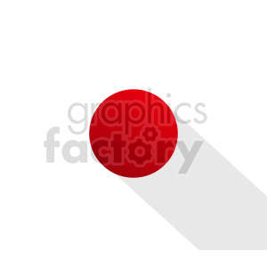 Japan flag vector clipart icon 05 clipart. Commercial use image # 415315