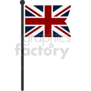 Union Jack Flag of United Kingdom vector clipart 003 clipart. Commercial use image # 415440
