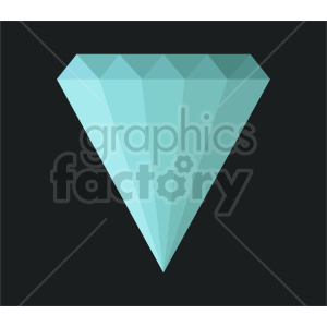 diamond icon vector clipart clipart. Commercial use image # 415454