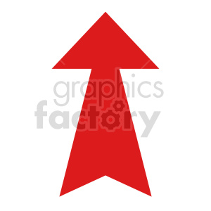 up arrow icon vector clipart clipart. Commercial use image # 415531