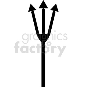 clipart - fish fork vector graphic.