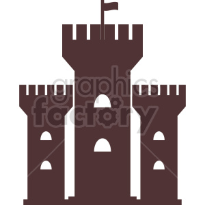 castle towers vector clipart. Commercial use icon # 415626