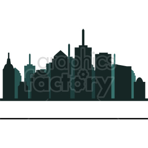 city skyscraper clipart clipart. Commercial use image # 415629