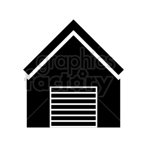 garage vector icon clipart. Commercial use image # 415719