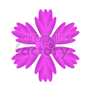 clipart - flowers vector clipart 5.