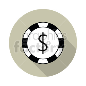 poker chip vector clipart 0 clipart. Commercial use image # 415836