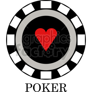 poker chip vector clipart 010 clipart. Commercial use image # 415842