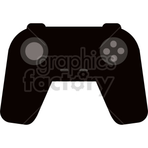 gamepad icon vector clipart clipart. Commercial use image # 415869