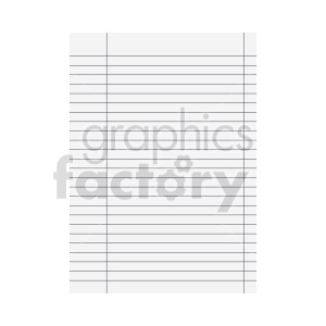 lined paper vector clipart clipart. Commercial use image # 415901