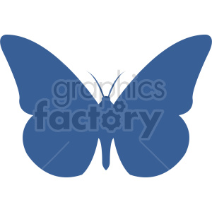 butterfly silhouette vector clipart 03 clipart. Commercial use image # 415927