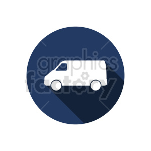 van vector graphic clipart. Commercial use image # 416028