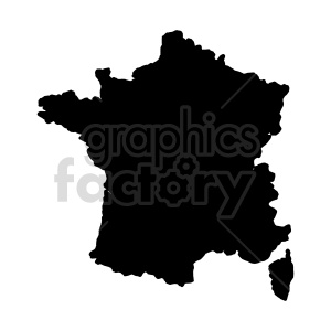 france silhouette vector clipart