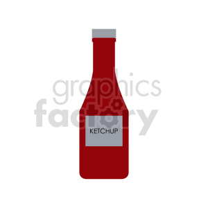 ketchup clipart clipart. Commercial use image # 416250