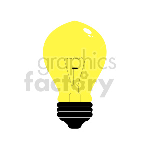 lightbulb clipart clipart. Commercial use image # 416294