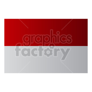 indonesia flag graphic clipart. Commercial use image # 416300